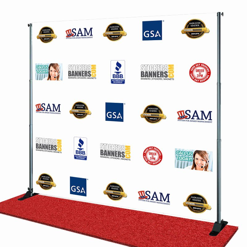 Step and Repeat Banner Template New Step and Repeat Banners Backdrop Stands