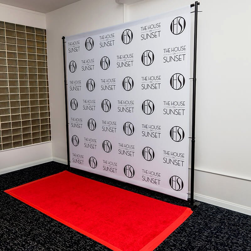 Step and Repeat Design Template Awesome 8 X 8 Backdrop Stand and Red Carpet Package