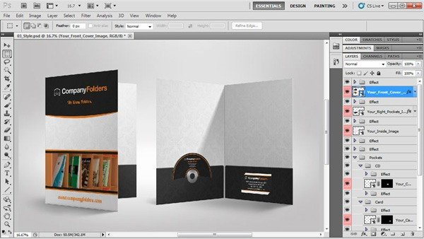 Step and Repeat Mockup Unique Free Psd Template Presentation Folder Mockup