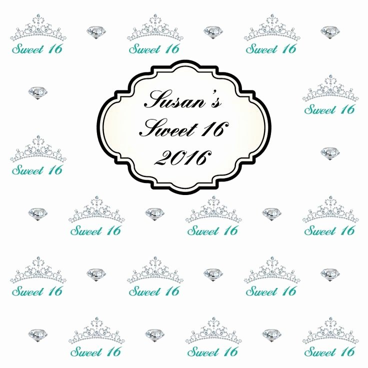 Step and Repeat Template Best Of 40 Best Sweet 16 Step and Repeat Templates Images On Pinterest