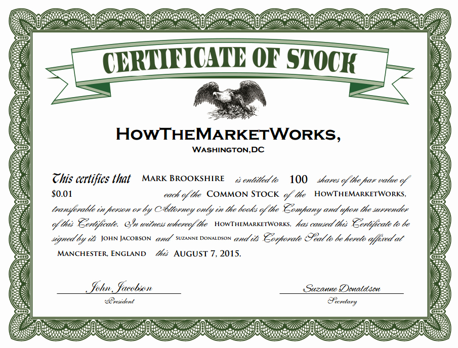 Stock Certificate Template Microsoft Word Lovely What is A Stock