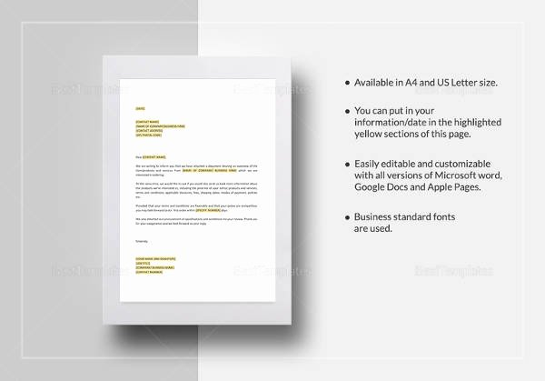 Stop Work order Template Beautiful 20 Sample order Letters Pdf Word Pages