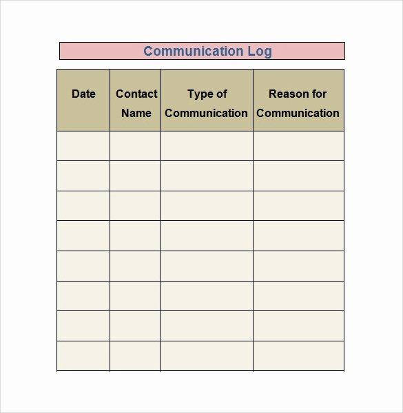 Stop Work order Template Best Of 30 Sample Log Template Documents In Pdf Word Excel