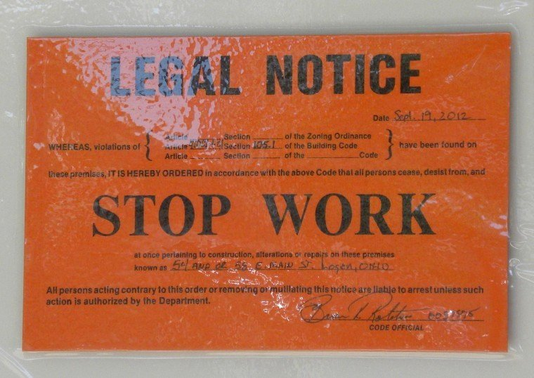 Stop Work order Template New Business Relocates Despite Building Code Violations News