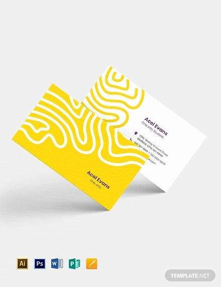 Student Business Card Examples Inspirational 12 Student Business Card Designs & Examples Psd Ai Vector Eps Word
