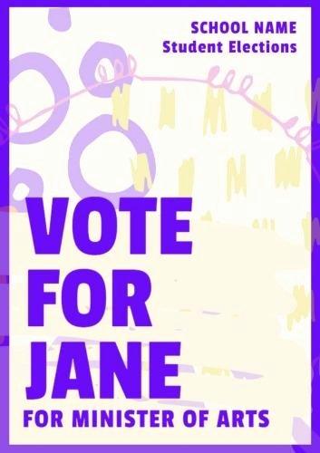 Student Council Poster Templates Unique Student Council Poster Templates Easy to Personalize