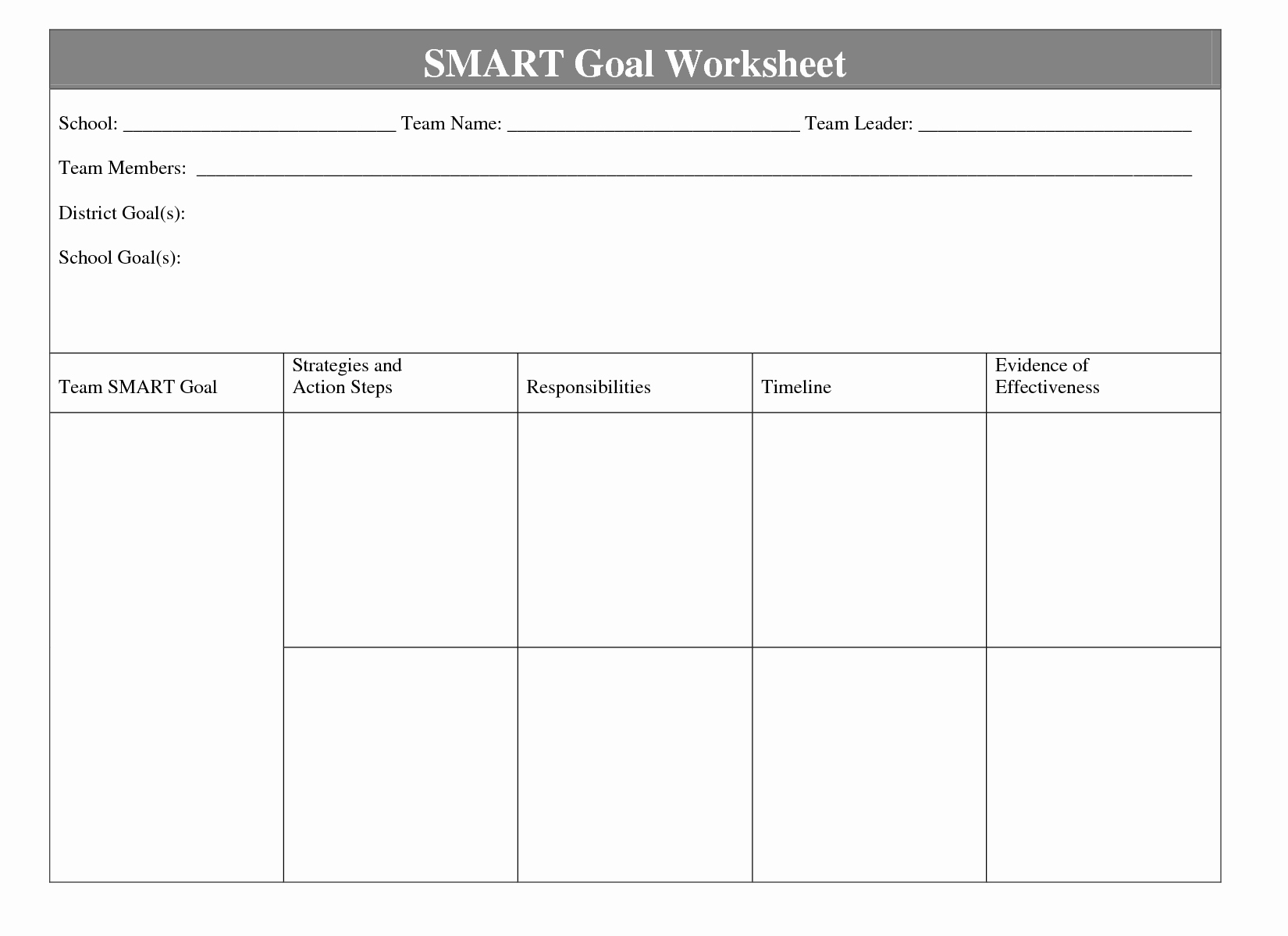 Student Goal Setting Worksheet Pdf Inspirational when It Es Time to Define the Goals and Objectives Of Your Cop Inform Minority Students