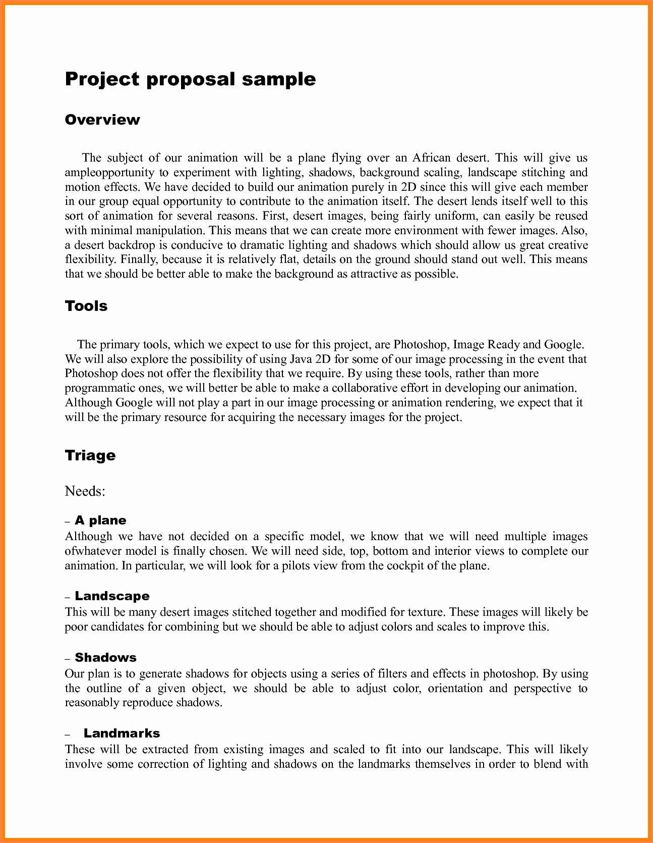 Student Project Proposal Example Lovely 9 Student Project Proposal Example
