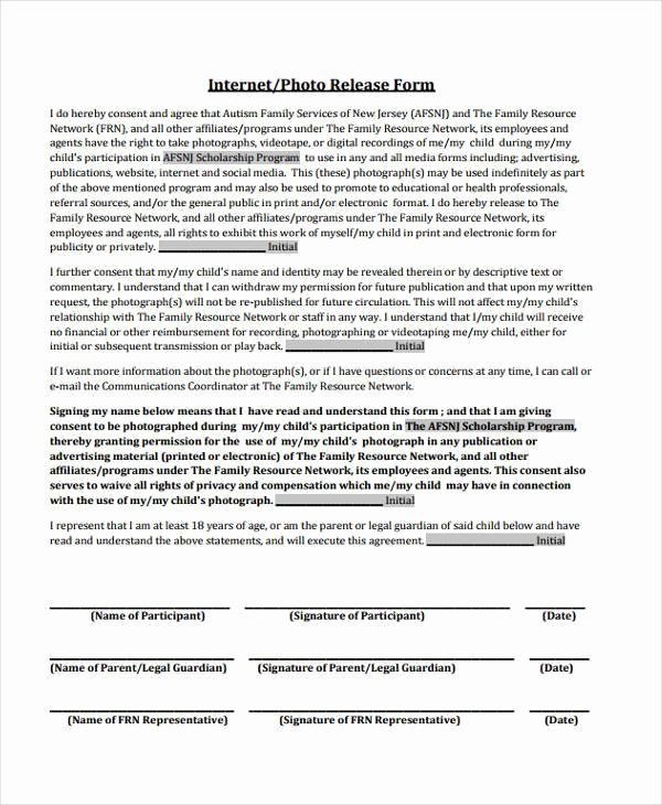 Student Release form Template Unique Free 38 Release form Templates