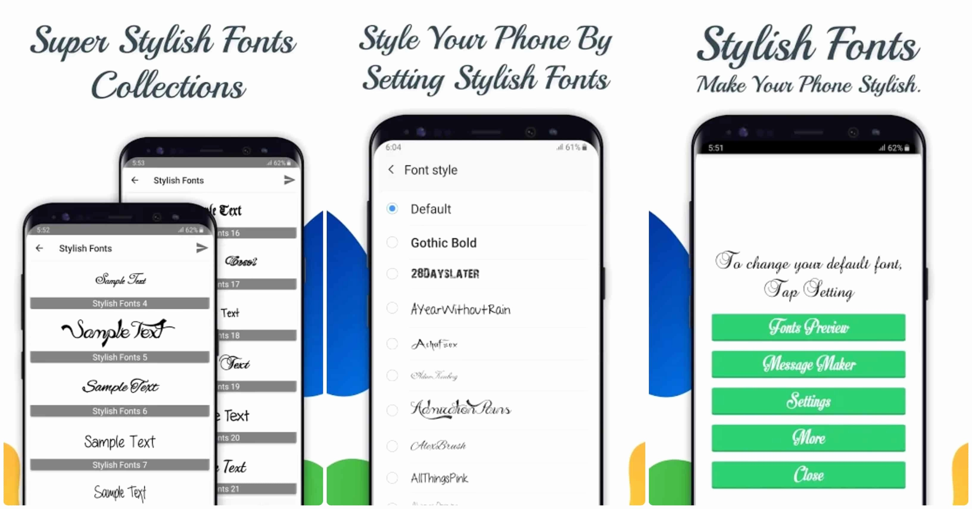 Stylish Fonts for android Beautiful 7 Best Font Changer Apps for android with Root & without Root Premiuminfo