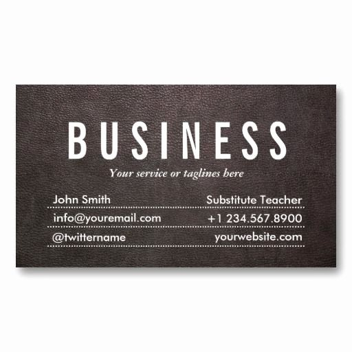 Substitute Teacher Business Card Examples Best Of 24 Best Images About Tutor Business Card Samples On Pinterest