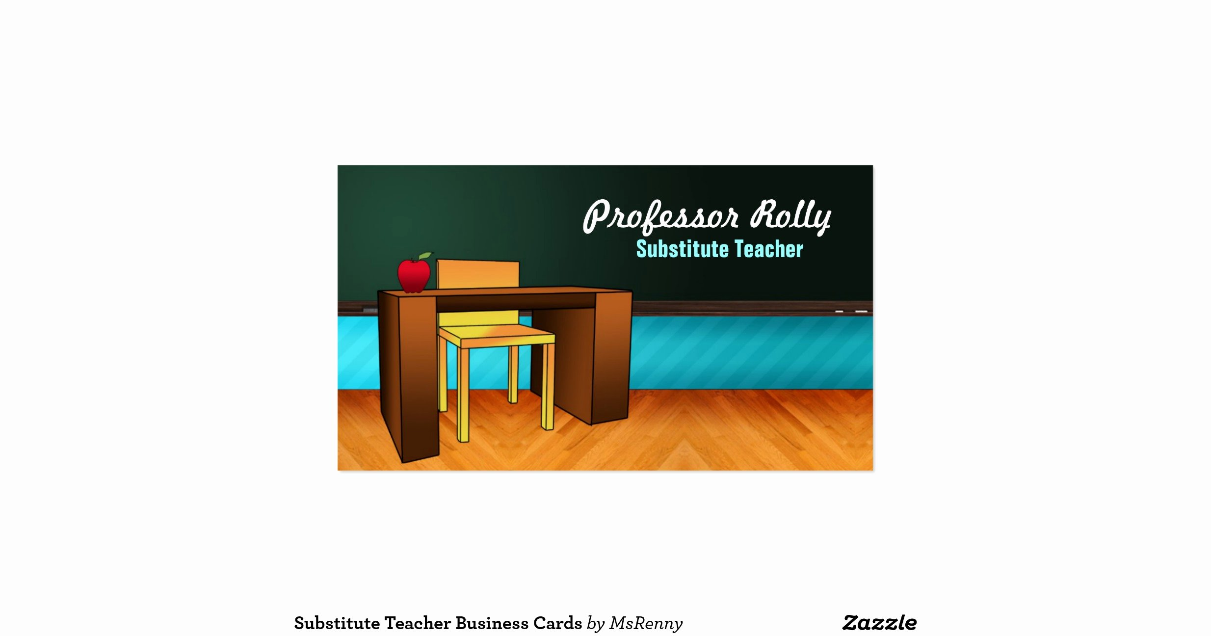 Substitute Teacher Business Card Examples Best Of Substitute Teacher Business Cards R1c52ff45f6934ba88bf Ca88d I579t 8byvr 1200 View