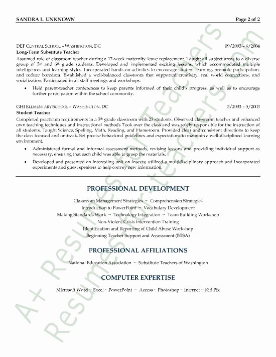 Substitute Teacher Cover Letter Examples Best Of Best 25 Resume Cover Letters Ideas On Pinterest