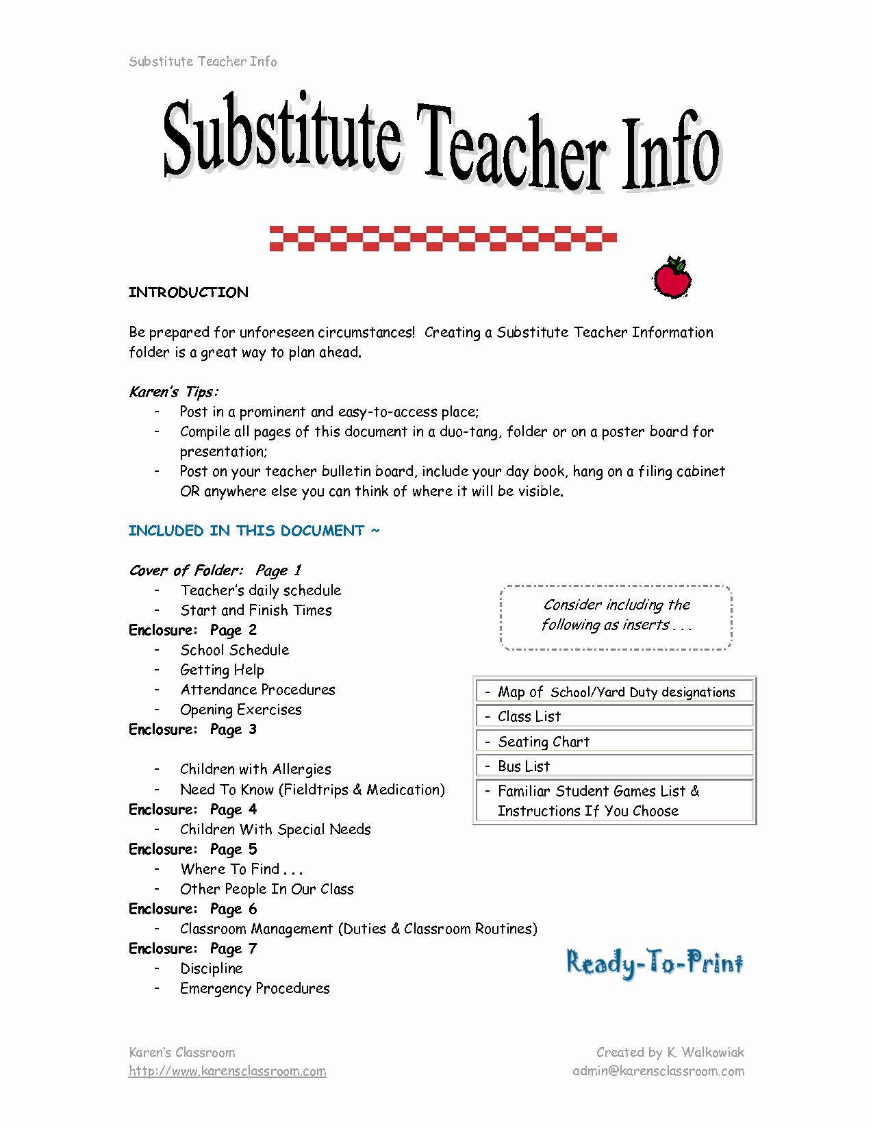 Substitute Teacher Cover Letter Examples Lovely Substitute Classroom Job & Free Substitute Classroom Job Transparent Pngio