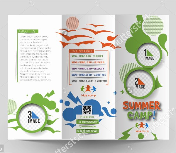 Summer Camp Brochure Ideas Awesome 25 Travel Brochure Templates Free & Premium Download