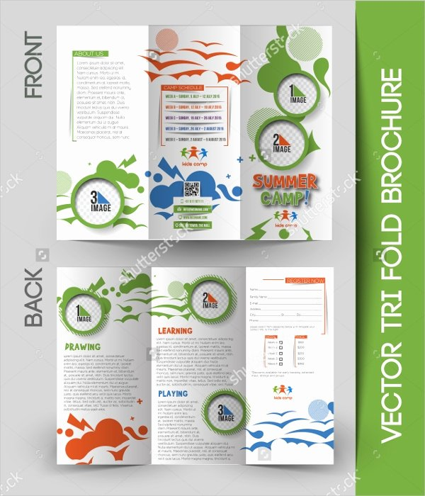 Summer Camp Brochure Ideas Beautiful 16 Summer Camp Brochures Free Psd Ai Eps format Download