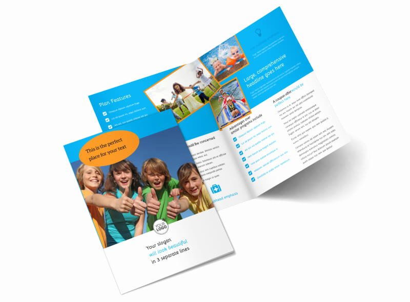 Summer Camp Brochure Ideas Best Of Summer Camps Brochure Template