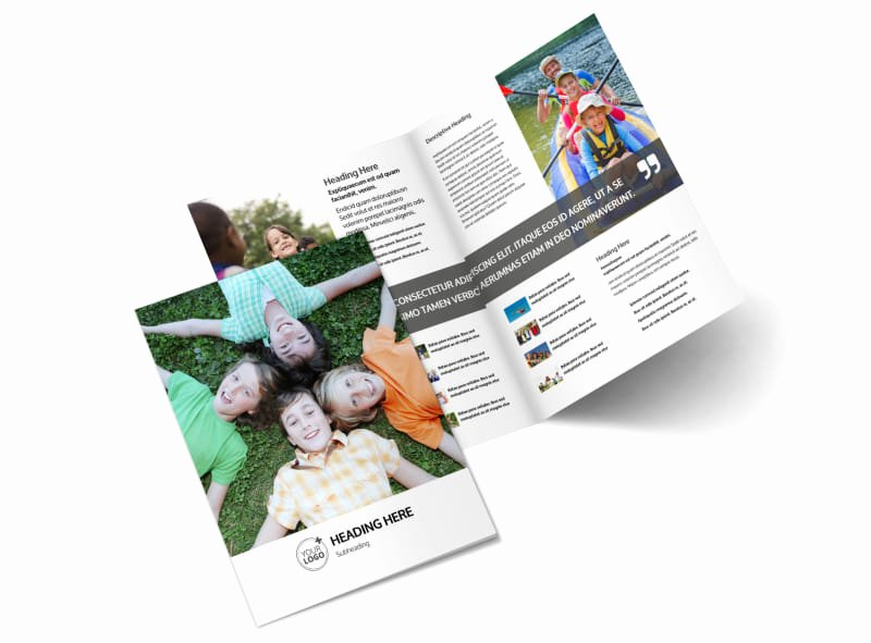 Summer Camp Brochure Ideas Best Of Youth Summer Camp Brochure Template