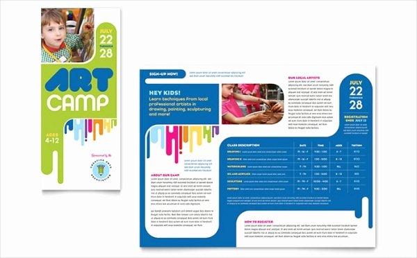 Summer Camp Brochure Ideas Elegant 20 Summer Camp Brochures Psd Vector Eps Jpg Download