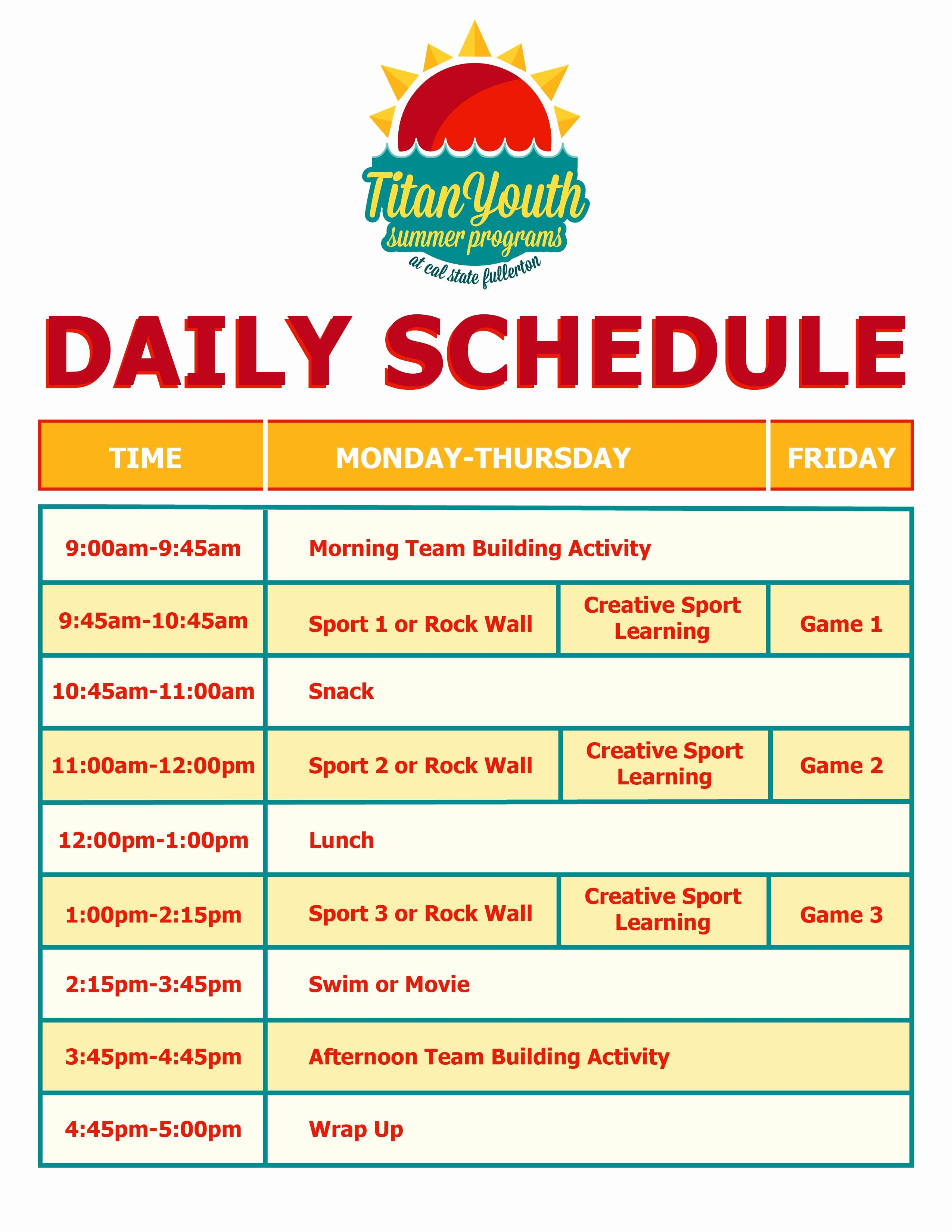 Summer Camp Daily Schedule Sample Luxury Maximize Your Camping Experience with these Ideas Read More Details by Clicking On the Image
