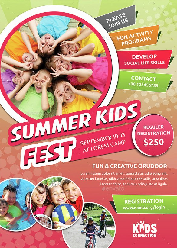 Summer Camp Flyer Design Best Of 17 Summer Camp Flyer Templates Word Psd Ai Eps Vector
