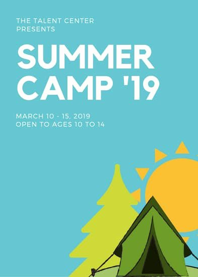 Summer Camp Flyer Design Lovely Customize 70 Summer Camp Flyer Templates Online Canva