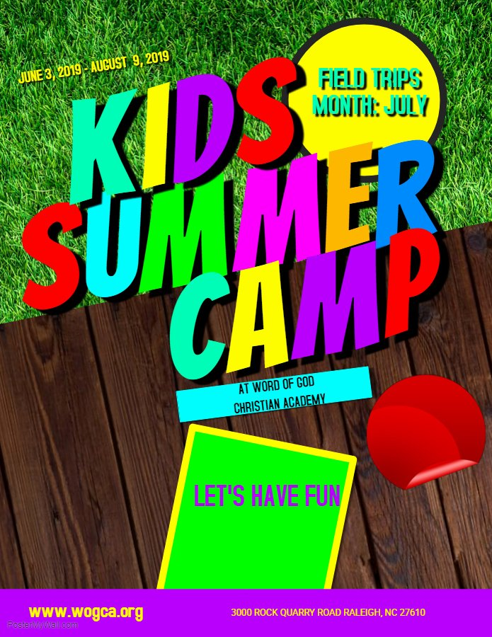 Summer Camp Flyer Template Awesome Summer Camp Flyer