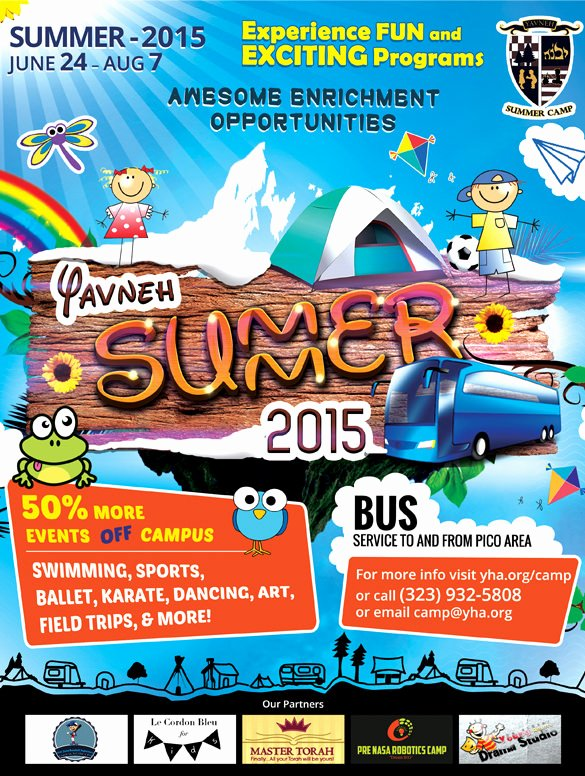 Summer Camp Flyer Template Best Of 51 Summer Camp Flyer Templates Psd Eps Indesign Word
