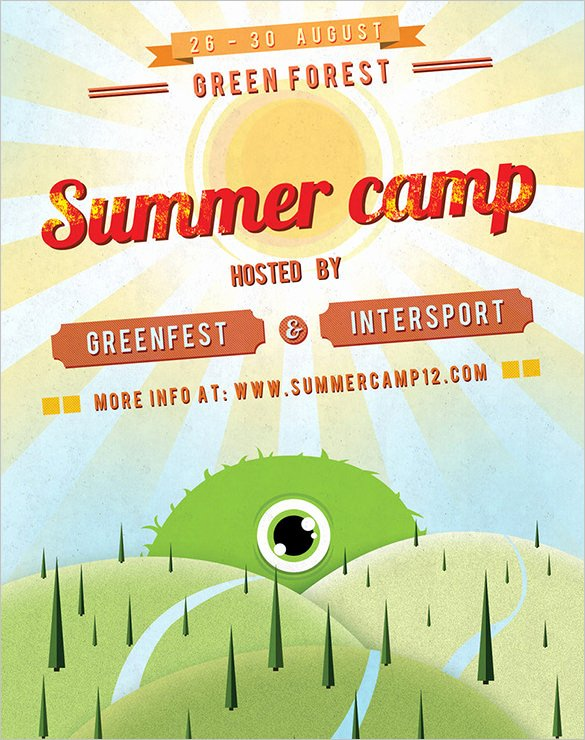 Summer Camp Flyer Templates Free Lovely 6 Summer Camp Flyer Templates Website Wordpress Blog