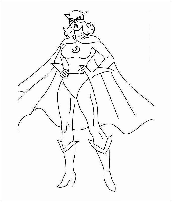 Super Hero Coloring Page Awesome Superhero Coloring Pages Coloring Pages