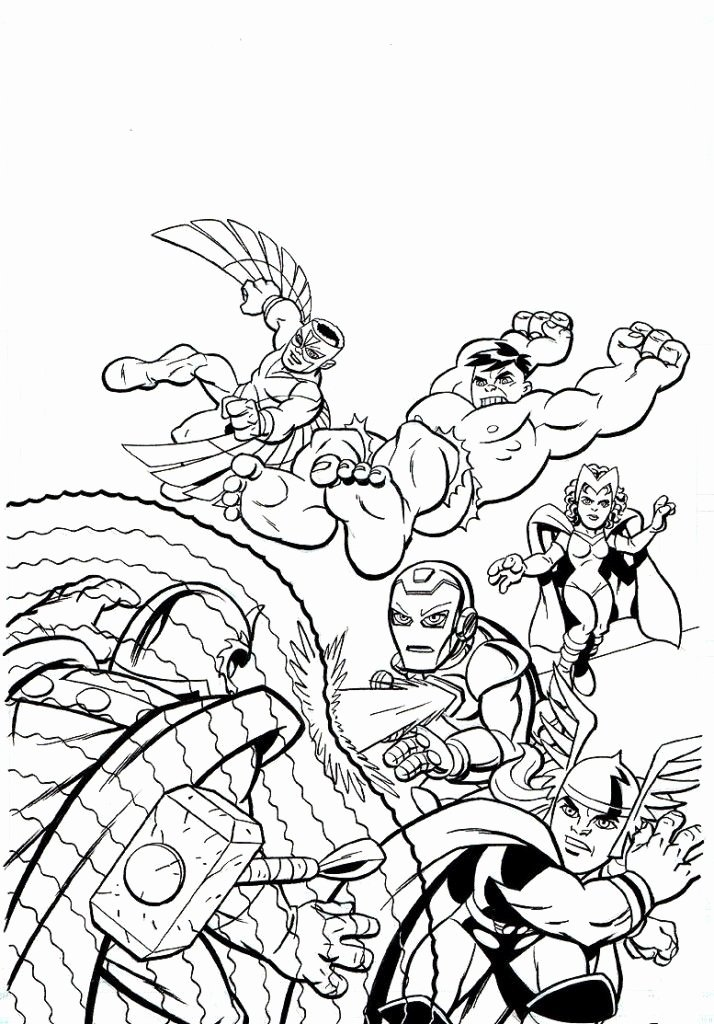 Super Hero Coloring Page Elegant Marvel Superhero Coloring Pages Coloring Home
