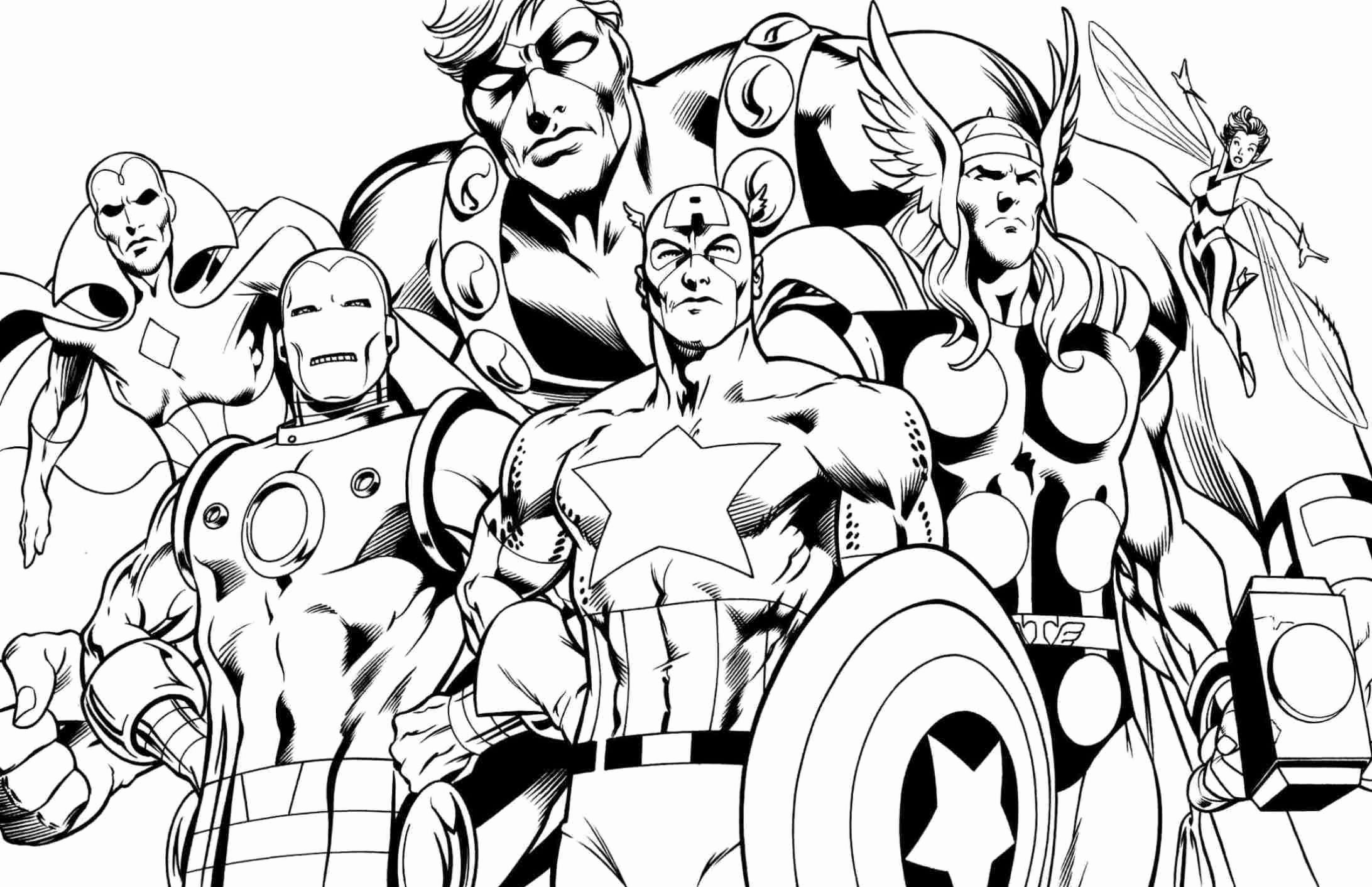 Super Hero Coloring Page Fresh Superhero Coloring Pages Best Coloring Pages for Kids