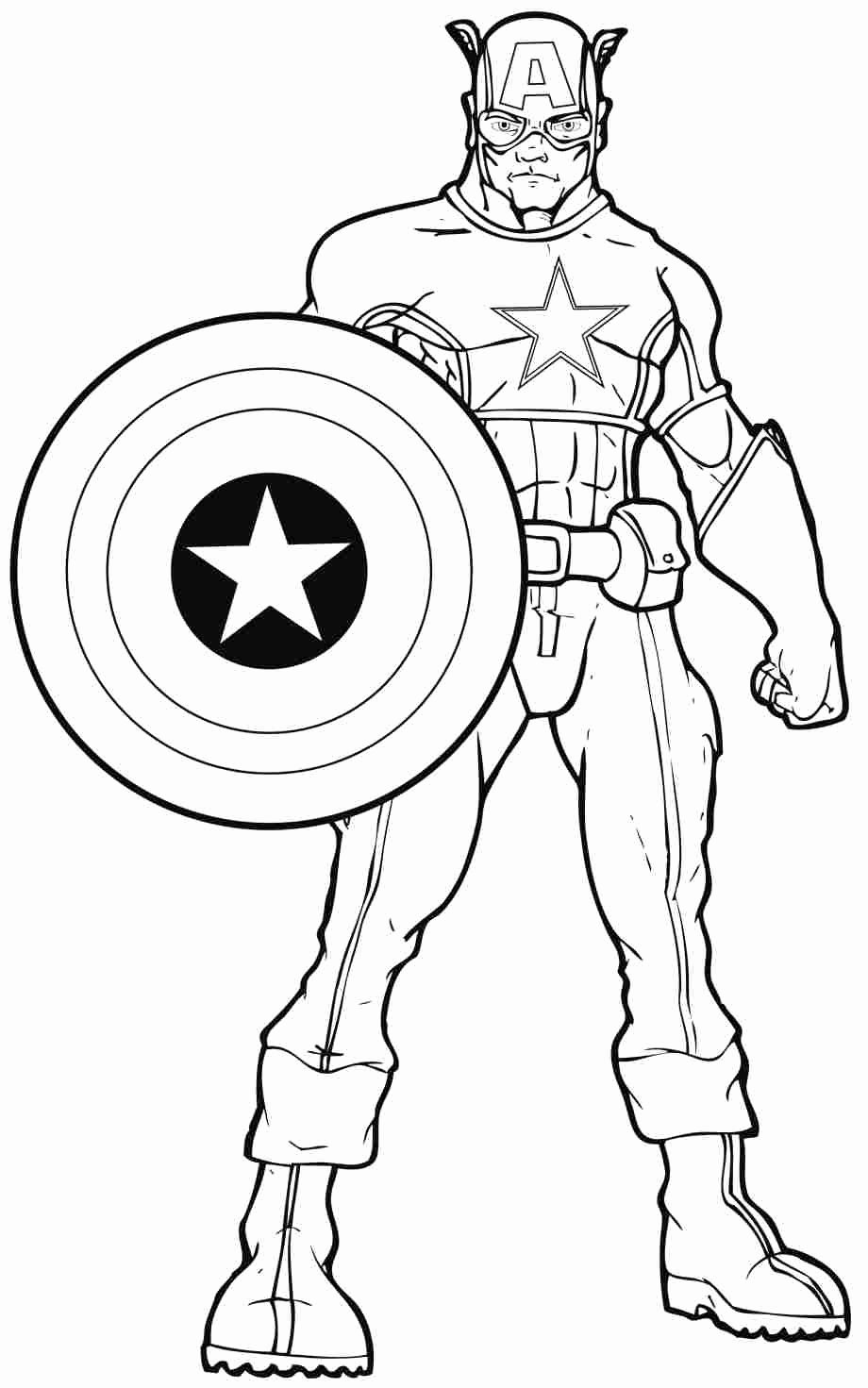 Super Hero Coloring Page Luxury Coloring Pages Superheroes Printables Coloring Home