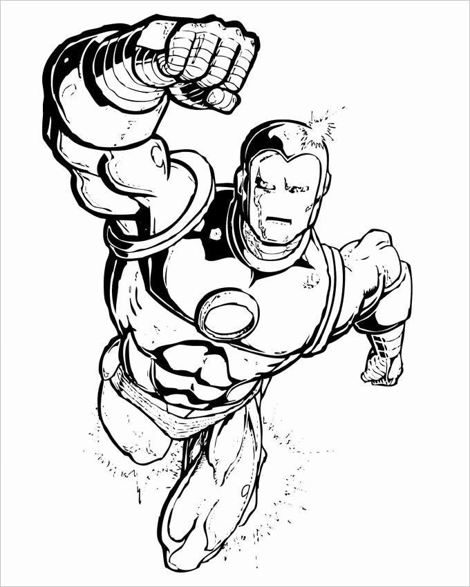 Super Hero Coloring Page Unique Superhero Coloring Pages Coloring Pages