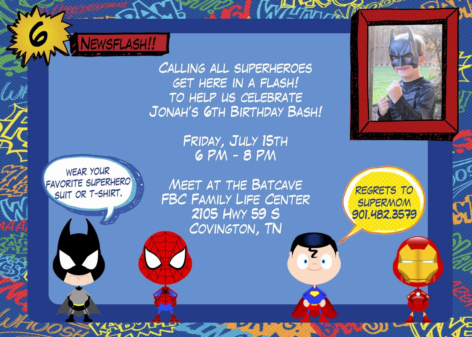 Superhero Birthday Invitations Templates Free Beautiful How to Arrange A Superhero Birthday Party