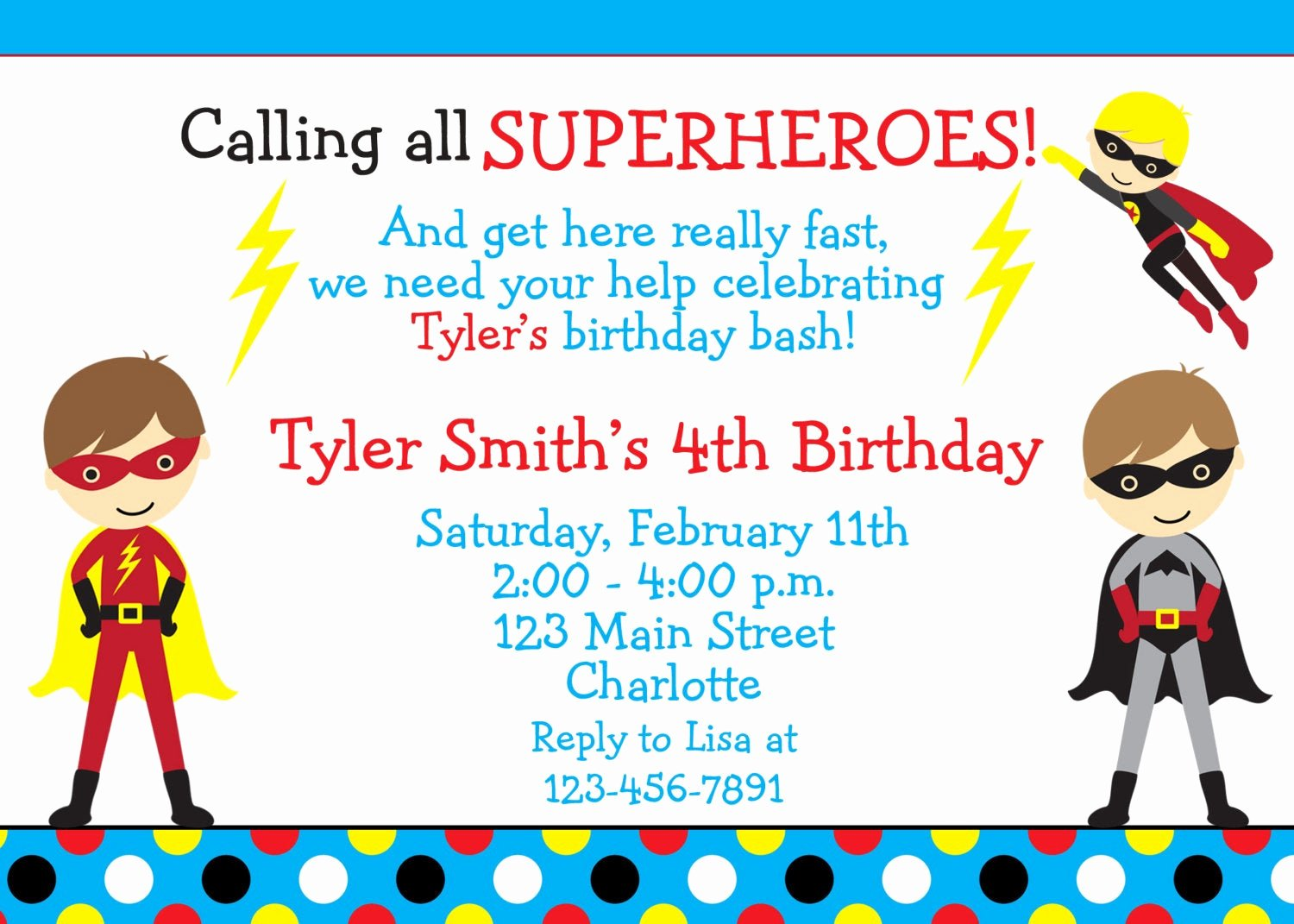 Superhero Girl Birthday Invitations Best Of Superhero Birthday Party Invitation Super Hero Superheros
