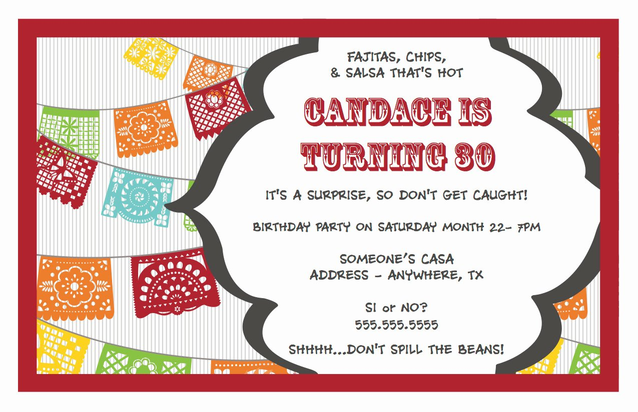 Surprise Party Invitations Templates Free Luxury 30th Surprise Birthday Party Invitations – Bagvania Free