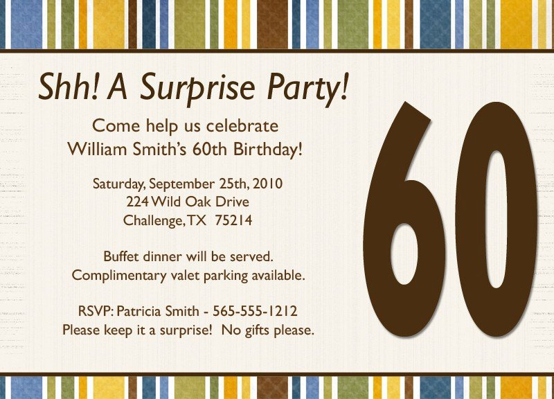 Surprise Party Invites Templates Fresh Free Surprise Birthday Party Invitations