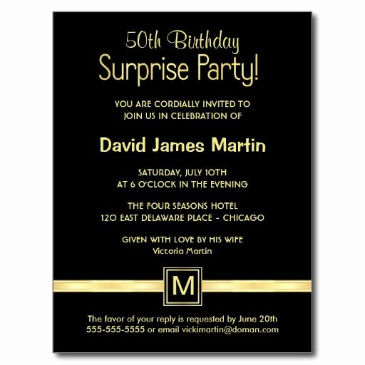 Surprise Party Invites Templates Unique Surprise 50th Birthday Party Invitations Wording Free Invitation Templates Drevio