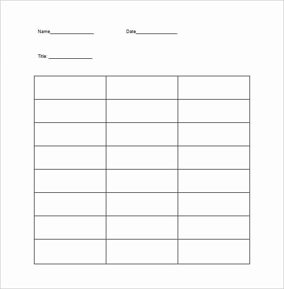 T Chart Template Word Elegant T Chart Template 15 Examples In Pdf Word Excel