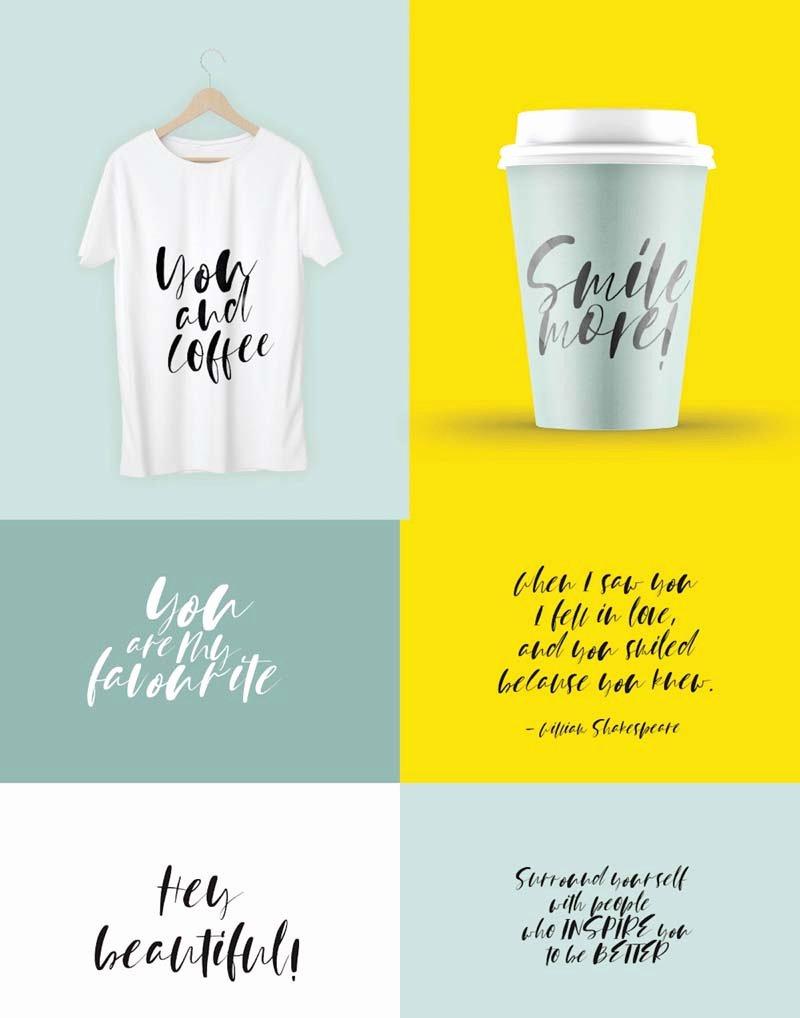 T Shirt Font Design Beautiful Best T Shirt Fonts for Your Designs