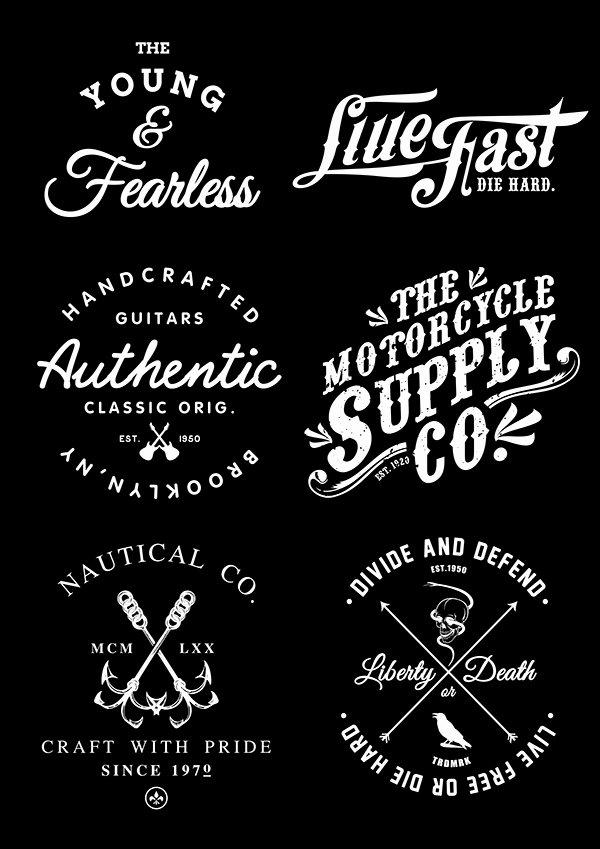 T Shirt Font Design Elegant Praise Label T Shirts Iii On Behance