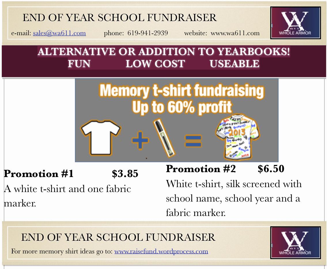 T Shirt Fundraiser Flyer Best Of T Shirt Fundraisers