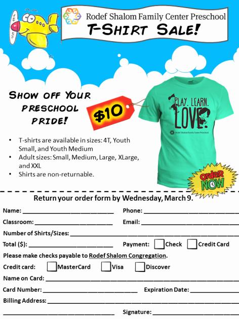 T Shirt Fundraiser Flyer Inspirational T Shirt Sale