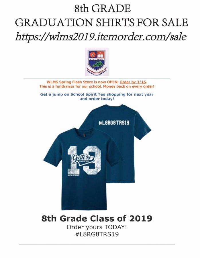 T Shirt Fundraiser Flyer New Class Of 2019 T Shirt – Gator Gazette
