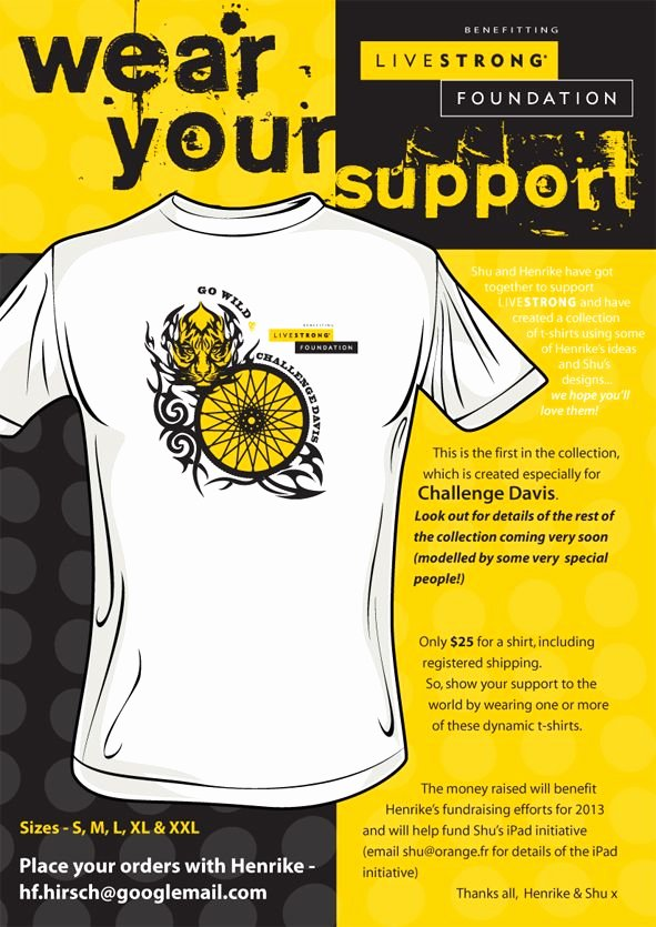 T Shirt Fundraiser Flyer New This is the First Fundraising T Shirt In A Series Shirts for Ragbrai Philly Austin and A