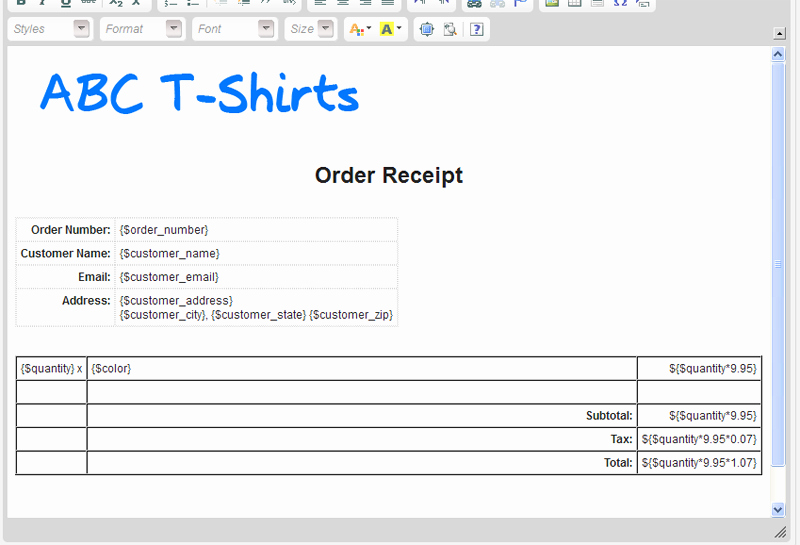 T Shirt order form Doc Beautiful Create A Pdf or Word Document From Gravityforms