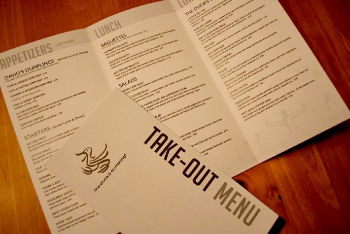 Take Out Menu Design Awesome Takeout Menu Design