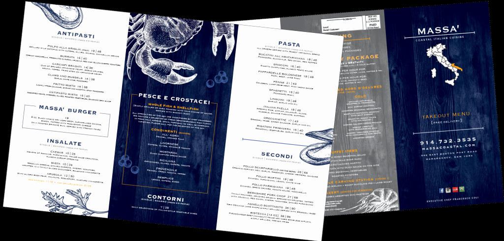 Take Out Menu Design Elegant Custom Take Out Menu Design