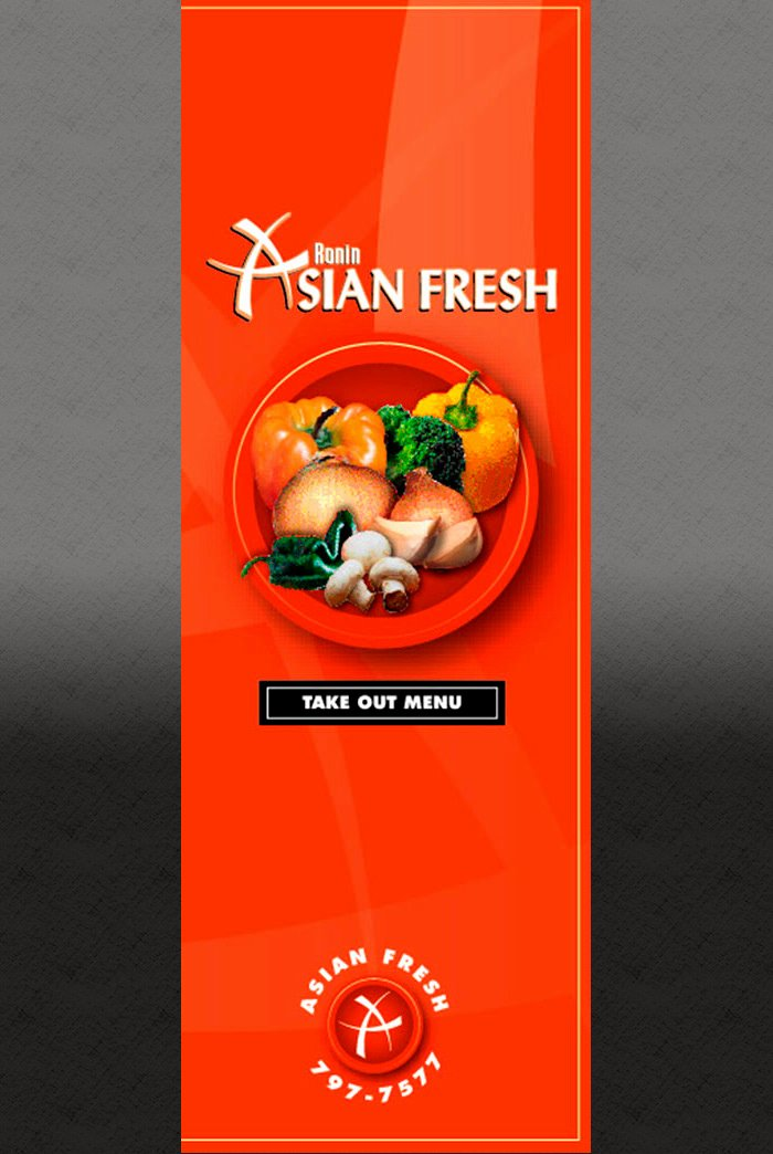 Take Out Menu Design Fresh Take Out Menu Great Scott Design Inc